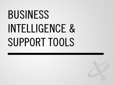 Business intelligence & support tools