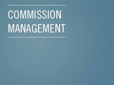 Commision management